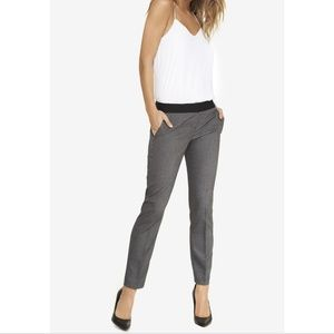 Express Columnist gray ankle pant size 2